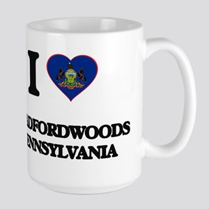 I love Bradfordwoods Pennsylvania Mugs