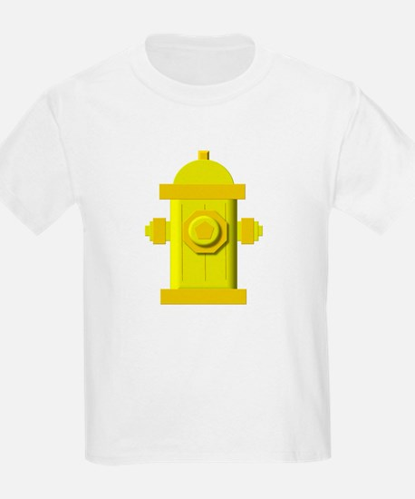 Yellow fire hydrant T-Shirt