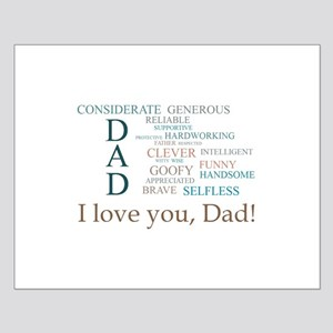 I love you, Dad! Posters
