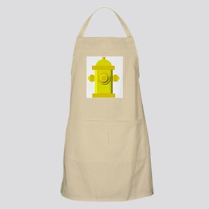 Yellow fire hydrant Apron