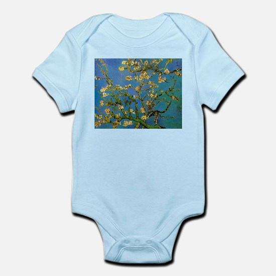 Blossoming Almond Tree by Vincent van Go Body Suit