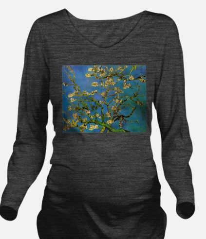 Blossoming Almond Tr Long Sleeve Maternity T-Shirt