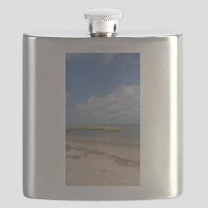 Asateague Island landscape Flask