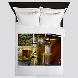 Firefighter gear and equipment 1 Queen Duvet