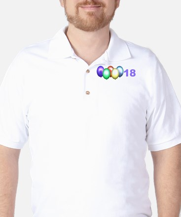 18th Birthday Golf Shirt