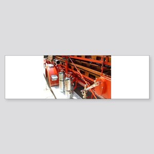 Firefighter gear and equipment 2 Bumper Sticker