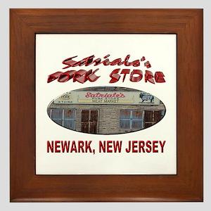 Satriale's Pork Store Framed Tile