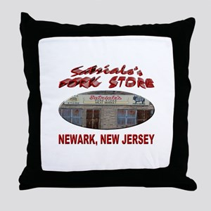 Satriale's Pork Store Throw Pillow