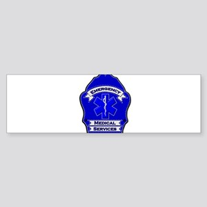 EMS shield blue Bumper Sticker
