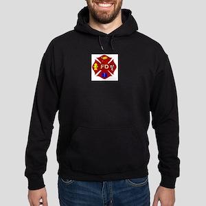 Fire department symbol Hoodie (dark)