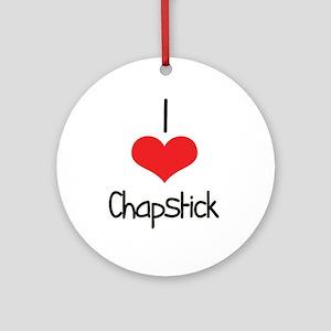 Chapstick Ornament (Round)