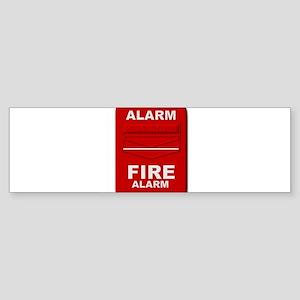 Alarm box red Bumper Sticker