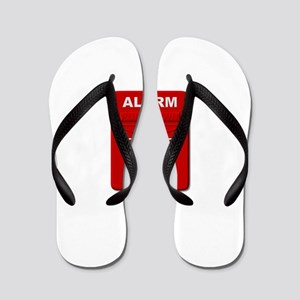 Alarm box red Flip Flops