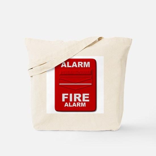 Alarm box red Tote Bag