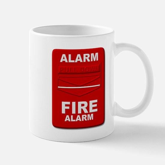 Alarm box red Mugs