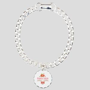 Cute Floral Orthopedic S Charm Bracelet, One Charm