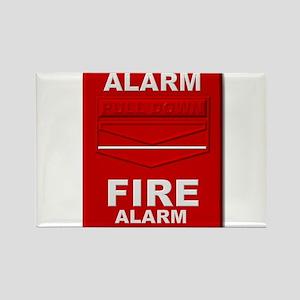 Alarm box red Magnets