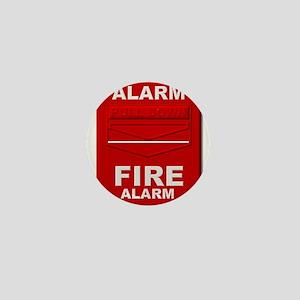 Alarm box red Mini Button