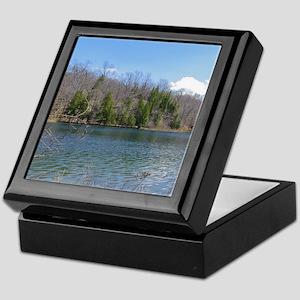Lake View Scenery Keepsake Box