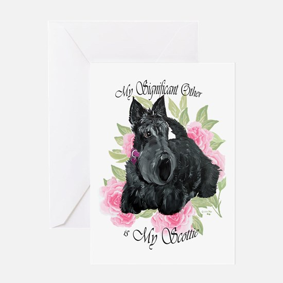 Signicant Scottie Greeting Card