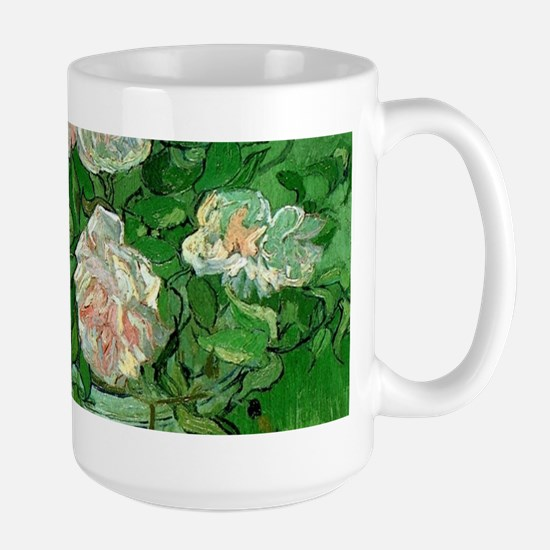Pink Roses by Vincent van Gogh Mugs