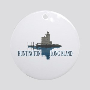 Huntington - Long Island New York Ornament (round)