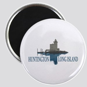 Huntington - Long Island New York. Magnet Magnets