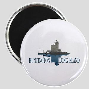 Huntington - Long Island New York. Magnet Magnets