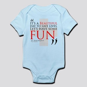 Beautiful Day to Save Lives Infant Bodysuit