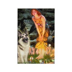 Fairies / G-Shep Rectangle Magnet