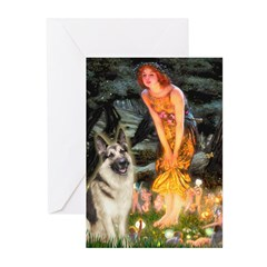 Fairies / G-Shep Greeting Cards (Pk of 10)