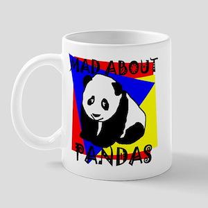 MAD ABOUT PANDAS Mug