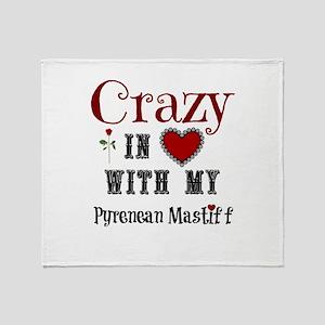 Pyrenean Mastiff Throw Blanket