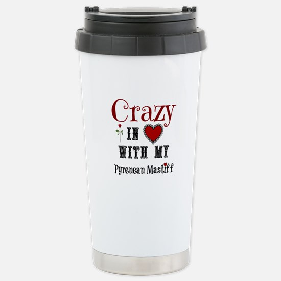 Pyrenean Mastiff Travel Mug
