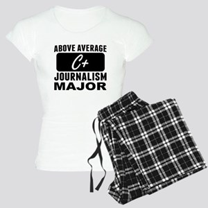 Above Average Journalism Major Pajamas