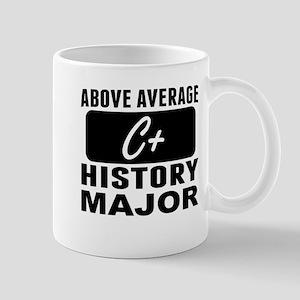Above Average History Major Mugs