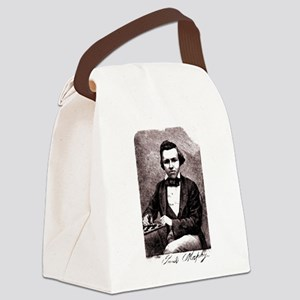 Chess player Paul Charles Morphy Canvas Lunch Bag