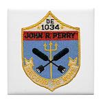 USS JOHN R. PERRY Tile Coaster