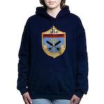 USS JOHN R. PERRY Women's Hooded Sweatshirt