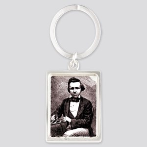 Chess player Paul Charles Morphy America Keychains