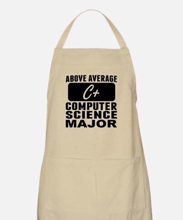 Above Average Computer Science Major Apron