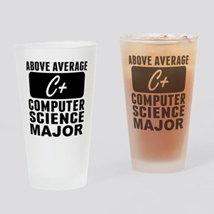 Above Average Computer Science Major Drinking Glas