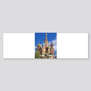 Saint Basil's Cathedral Russian Ort Bumper Sticker