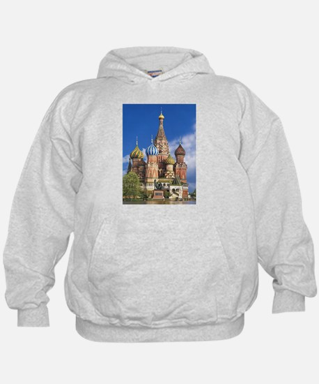 Saint Basil's Cathedral Russian Orthod Hoodie