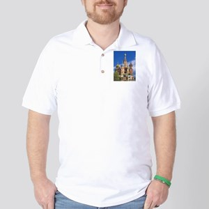 Saint Basil's Cathedral Russian Orthodo Golf Shirt