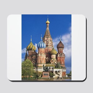 Saint Basil's Cathedral Russian Orthodox Mousepad
