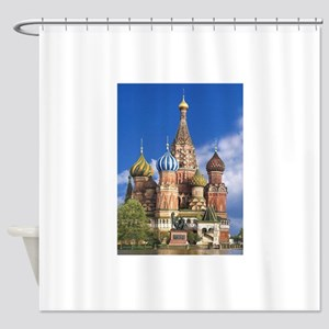 Saint Basil's Cathedral Russian Ort Shower Curtain