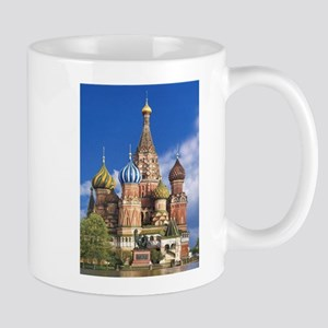 Saint Basil's Cathedral Russian Orthodox Chur Mugs