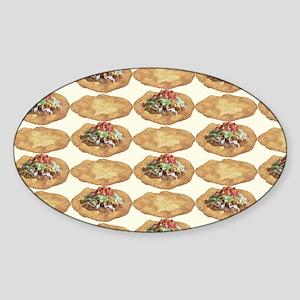 Frybread ala Taco Sticker (Oval)