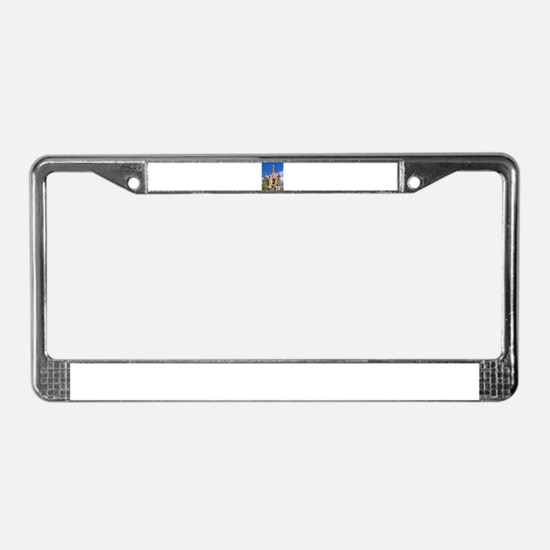 Saint Basil's Cathedral Russia License Plate Frame